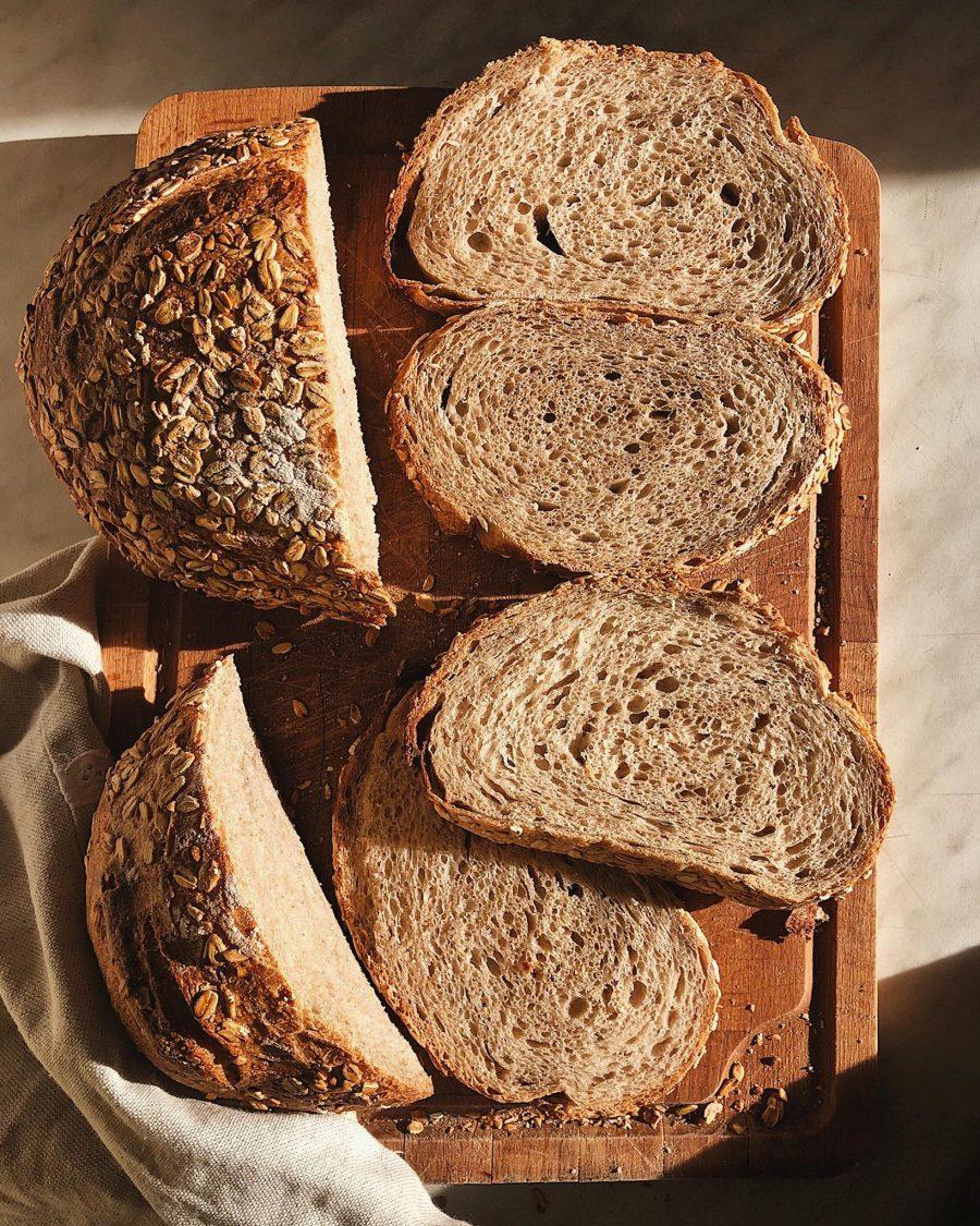 Vermontský chlieb s kváskom Lievito madre