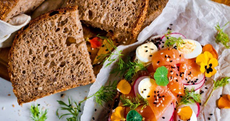 Pohánkový chlieb s kváskom Lievito madre