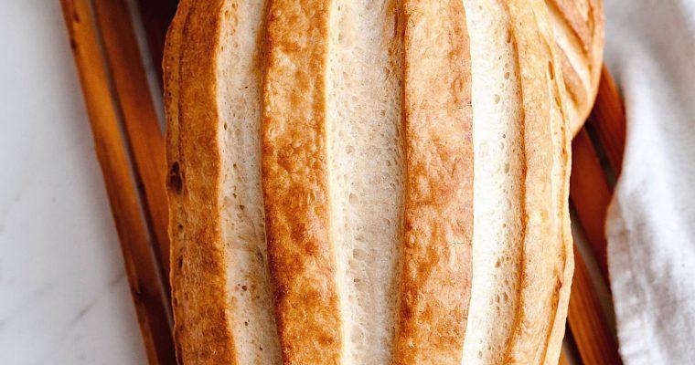 Normandský chlieb s kváskom Lievito madre