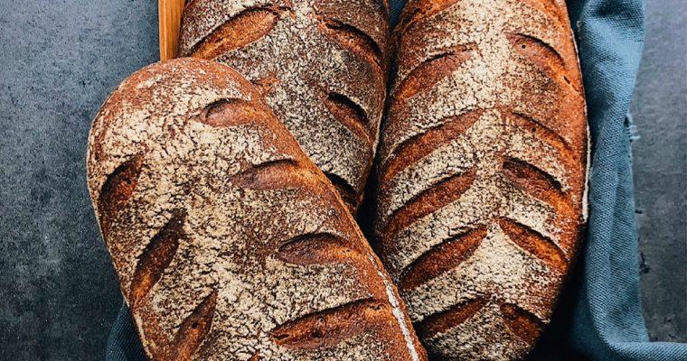 Ražno-pšeničné chlebíky s kváskom Lievito madre
