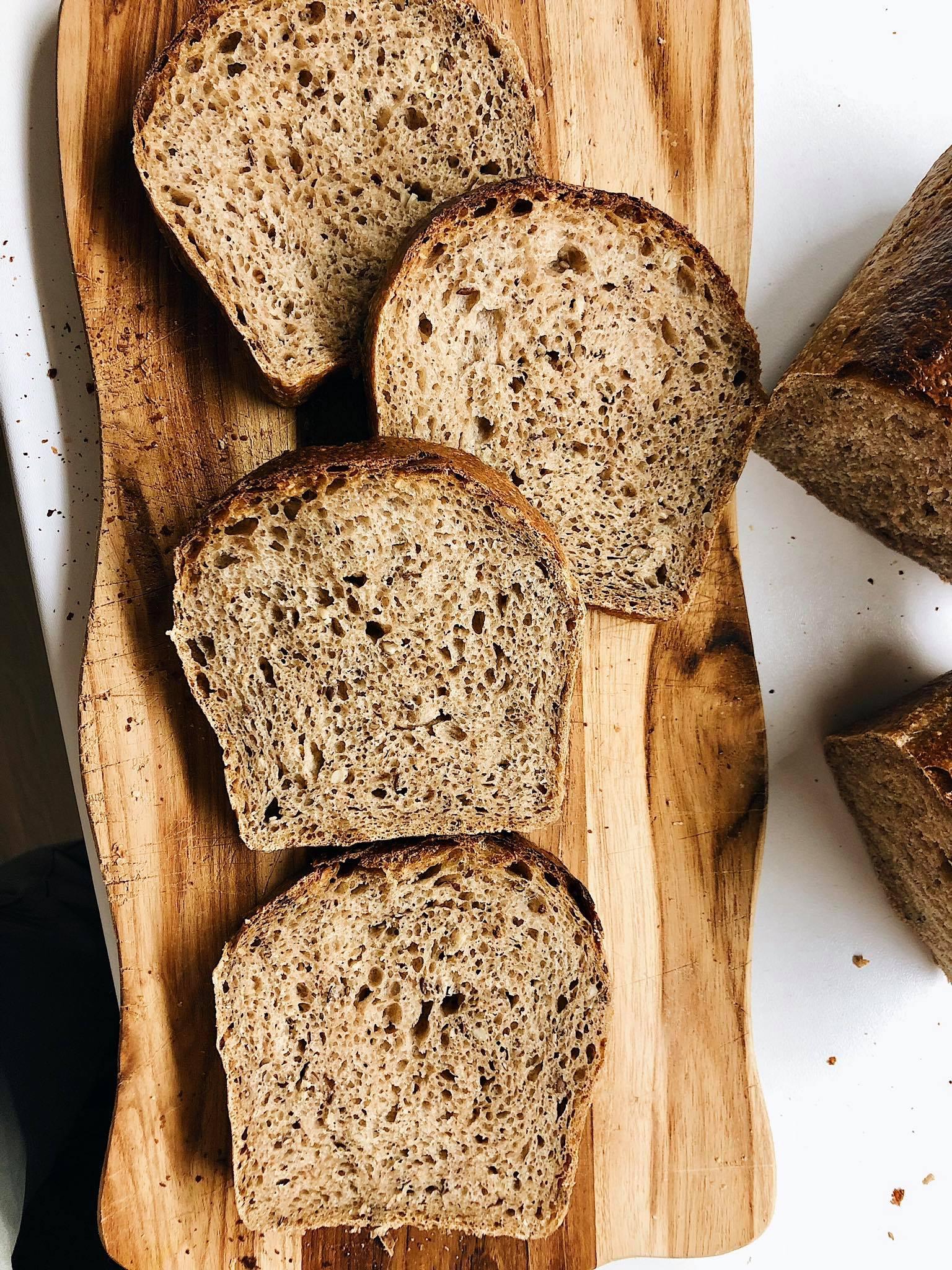 Toastový chlieb z Aidy 2.6 a kvásku Lievito madre